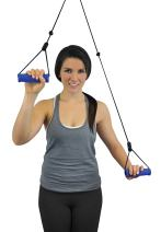 Blue Jay An Elite Healthcare Brand Move those Shoulders Overdoor Shoulder Pully With Door Strap - Fully Assembled , Improves Range of Motion | Easily Adjustable for Physiotheraphic Exercises.