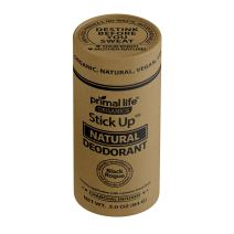Primal Life Organics   Stick Up Natural Vegan Deodorant   Charcoal Infused and Made with Magnesium and Hemp Seed Oil   No Gluten, Baking Soda or Aluminum   3 ounces   Black Rogue