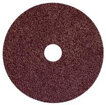"""Weiler 59503 Wolverine Aluminum Oxide Resin Fiber Sanding & Grinding Disc, 5"""" Diameter, 36 Grit, 7/8"""" Arbor Hole, (Pack of 25)"""