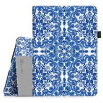 Fintie Case for iPad 9.7 2018/2017, iPad Air 2, iPad Air - [Corner Protection] Premium Vegan Leather Folio Stand Cover, Auto Wake/Sleep for iPad 6th / 5th Gen, iPad Air 1/2, Cobalt Blue