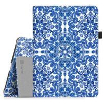 Fintie Case for iPad 9.7 2018/2017, iPad Air 2, iPad Air - [Corner Protection] Premium Vegan Leather Folio Stand Cover, Auto Wake/Sleep for iPad 6th / 5th Gen, iPad Air 1/2, Cobalt Blue