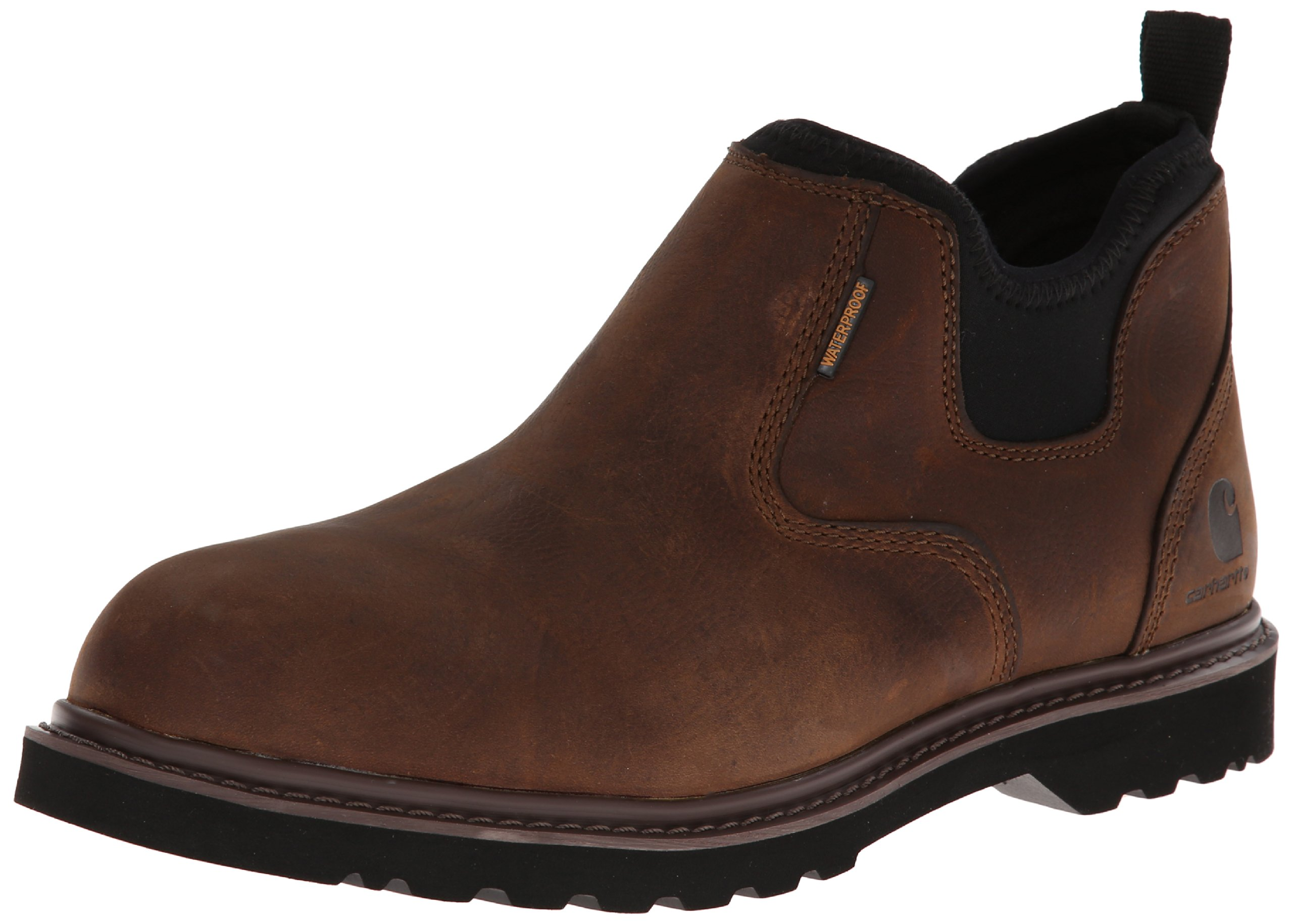 """Carhartt Men's 4"""" Romeo Non Safety Toe Waterproof Breathable Pull-On Boot CMS4190"""