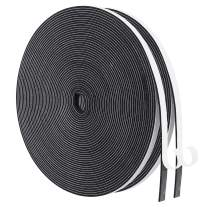 Adhesive Foam Tape-2 Rolls, 1/4 Inch Wide X 1/16 Inch Thick High Density Weatherseal Insulation, Closed Cell Foam Seal Weather Stripping Total 65 Feet Long(32.5ft x 2 Rolls )