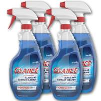 Diversey Glance Powerized Professional Glass & Surface Cleaner, 32 oz. Capped Spray Bottle (4 Pack)