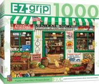 MasterPieces EZ Grip Extra Large Jigsaw Puzzle, General Store, Featuring Art by Janet Kruskamp, 1000 Pieces