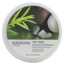 Solutions by Great Clips Tea Tree Coconut Oil Texture 2oz | Texturizing & Styling | Pliable Hold | Great for Dry, Coarse Hair