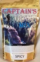 SPICY Captain's Trail Mix, Snack Mix, Bolder Chex Mix Snack Flavor, Salty Cashews, Smokey Almonds, Raw Pecans