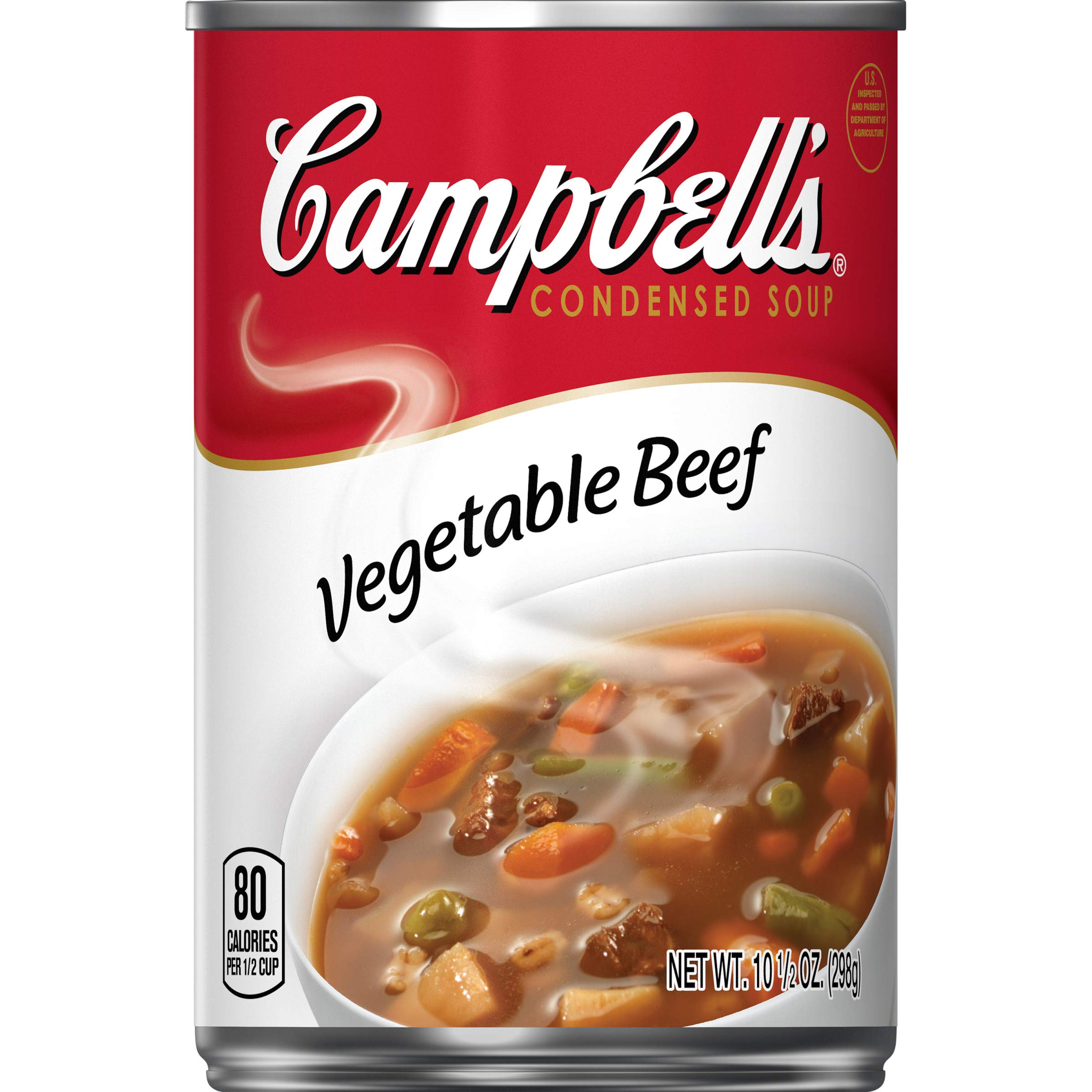 Campbell'sCondensed Vegetable Beef Soup, 10.5 Ounce (Pack of 12)