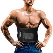 Waist Trainer for Women and Men, Powerful Sticker, Neoprene Workout Sweat Belt