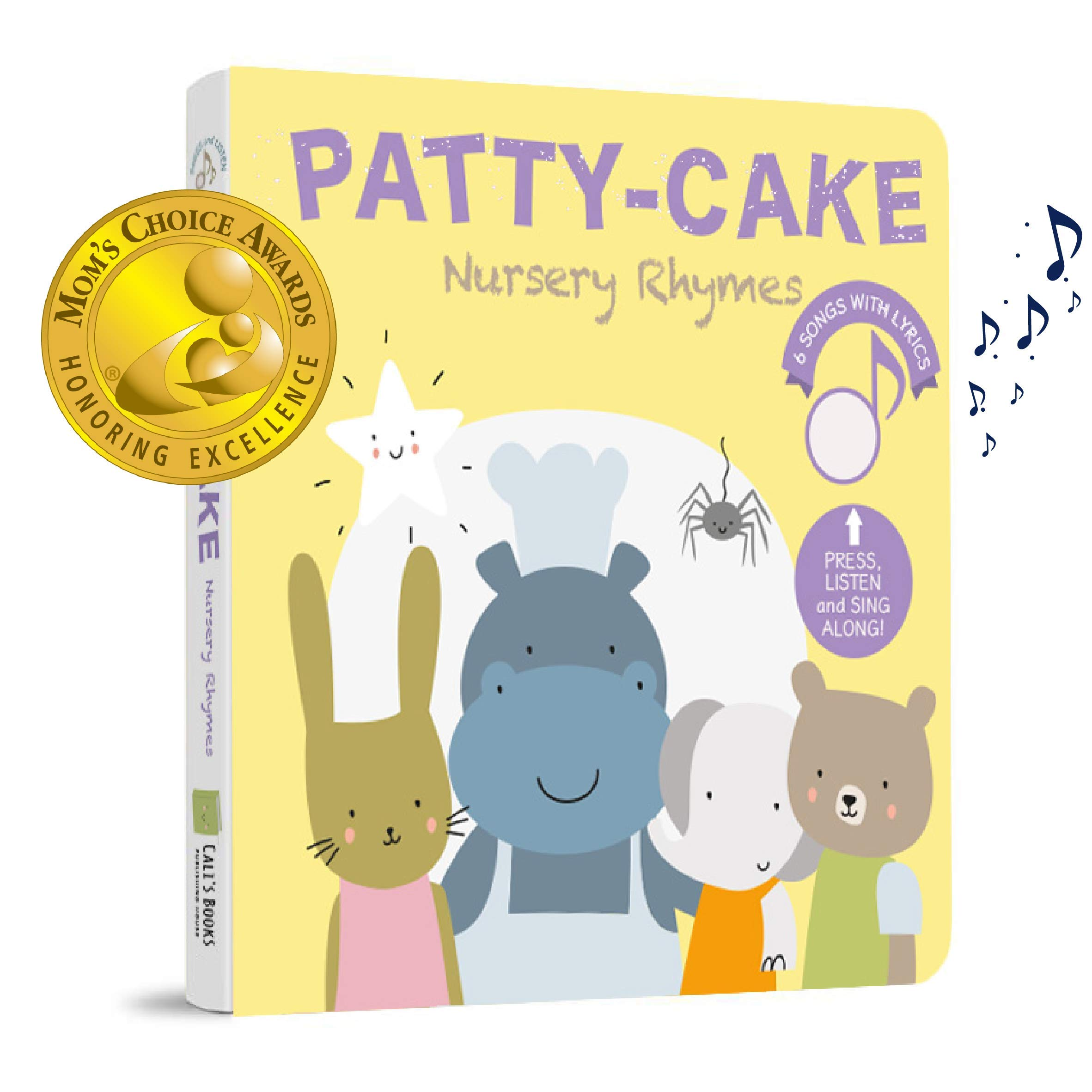 Patty Cake and Favorites Nursery Rhymes (Mom's Choice Award Winner) - Press, Listen and Sing Along! Sound Book - Best Interactive and Educational Gift for Baby, Toddler, 1- 4 Year Old Girl and Boy