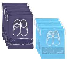 SPIKG Portable Travel Shoe Bags Shoe Organizer Space Saving Storage Bags