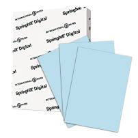 Springhill Blue Colored Cardstock Paper, 67lb Vellum Bristol, 147 gsm, 11x17 card stock, 1 Ream / 250 Sheets -Lightweight Cardstock with Vellum Finish (026004R)