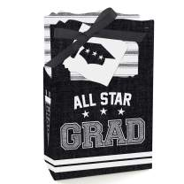 Big Dot of Happiness All Star Grad - Graduation Party Favor Boxes - Set of 12