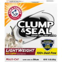 Arm & Hammer Clump & Seal Multi-Cat Lightweight Odor Sealing Cat Litter