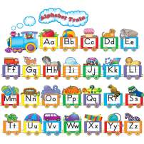 Teacher Created Resources Alphabet Train Bulletin Board Display Set (4421),Multi Color