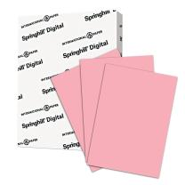 Springhill Pink Colored Paper, 24lb Copy Paper, 89gsm, 8.5 x 11 printer paper, 1 Ream / 500 Sheets - Pastel Paper with Smooth Finish (024042R)