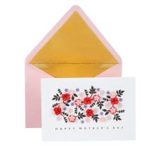 Hallmark Signature Mother's Day Card (Cut Paper Flowers Have a Wonderful Day) (799MBC1083)
