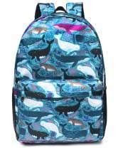 "Backpack for Women Girls School Book bags Lightweight Large 15.6"" Daypack Waterproof Nature Laptop Backpacks"