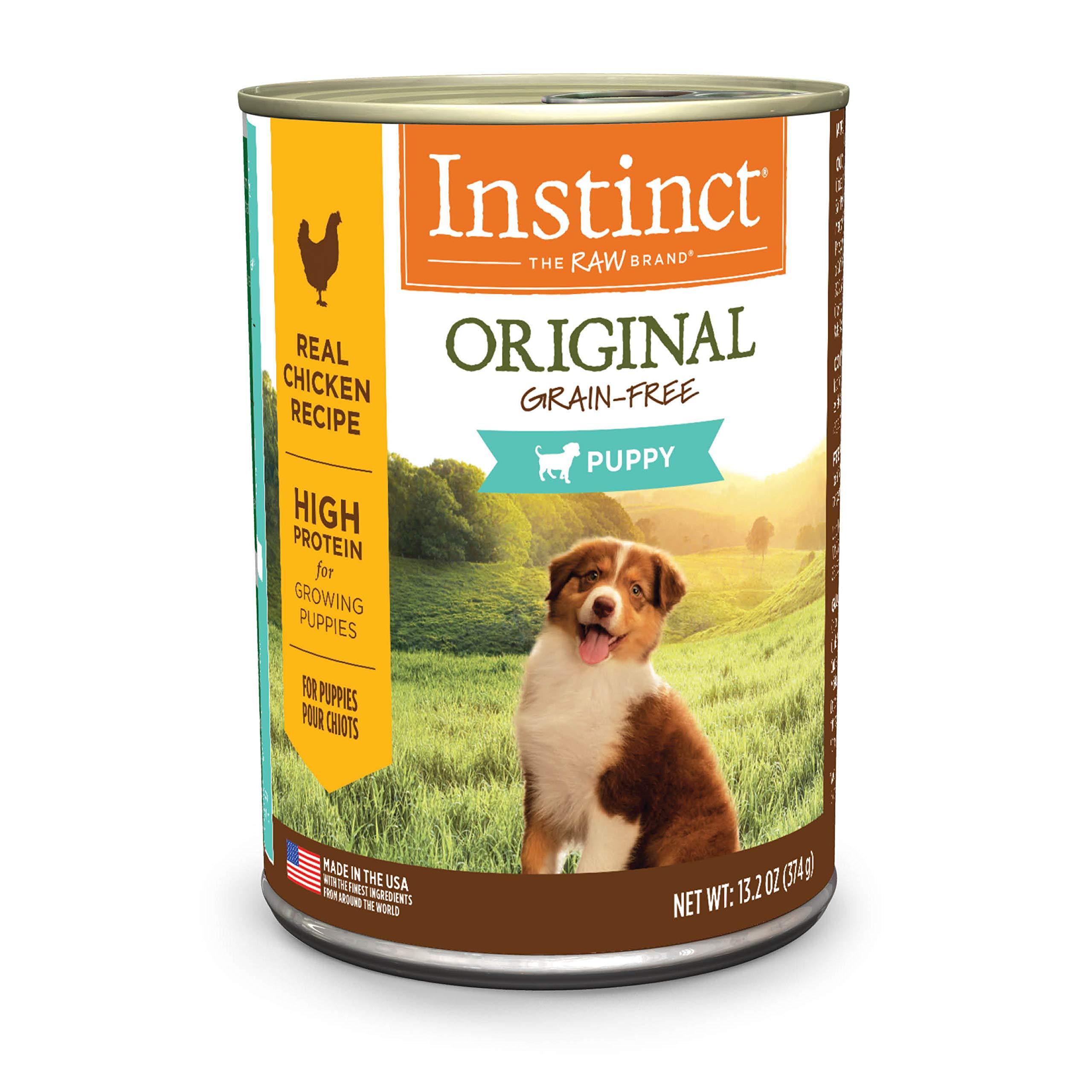 Instinct Puppy Grain Free Recipe Natural Dry Dog Food