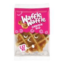 Waffle Waffle, Cinnamon Roll Liege Waffle, 2.25 Oz, 6 Pack