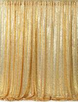 B-COOL Sequin Backdrop Gold 4ft x 6.5ft Sequin Photography Backdrop Wedding Photo Booth Backdrop Background Birthday Party Curtain Christmas Prom Backdrop