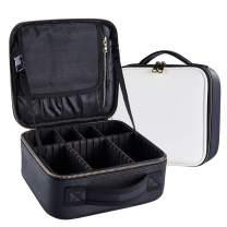 Goldwheat Beauty Cosmetics Case Makeup Bag Salon Hair Tools Hairdressing Bag Grooming Toiletry Travel Kits