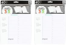 me & my BIG ideas FIL-03 The Happy Classic Planner Filler, Daily Fill Paper (2 Pack)