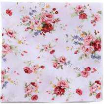 LondonJaeApparel Floral Pocket Squares - Wedding Groomsmen Outfit Accessories