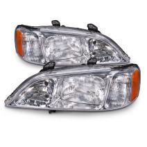 HEADLIGHTSDEPOT Headlight HID Type Compatible with Acura TL 3.2 (Pair)