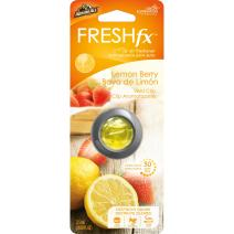 Armor All FRESH fx Car Air Freshener Vent Clip – Lemon Berry Scent (0.08 fluid ounces)