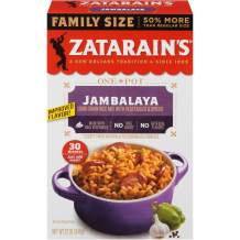 Zatarain's Family Size Jambalaya, 12 oz (Pack of 12)