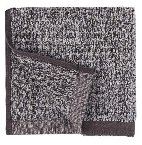 "Everplush Diamond Jacquard Bath Linens Wash Cloth, 6 Pack, 13"" x 13"", Gray"