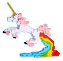 3D Pixel Puzzle - Unicorn (270+ Pcs)