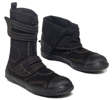 fugu Sa-Me Japanese Vegan Boots Eco-Friendly Mid-Calf Boots with Rubber Sole