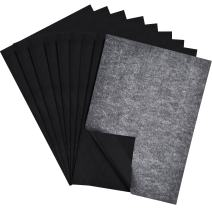 60 Packs Carbon Transfer Paper Tracing Paper for Wood, Paper, Canvas (9 by 13 Inch)