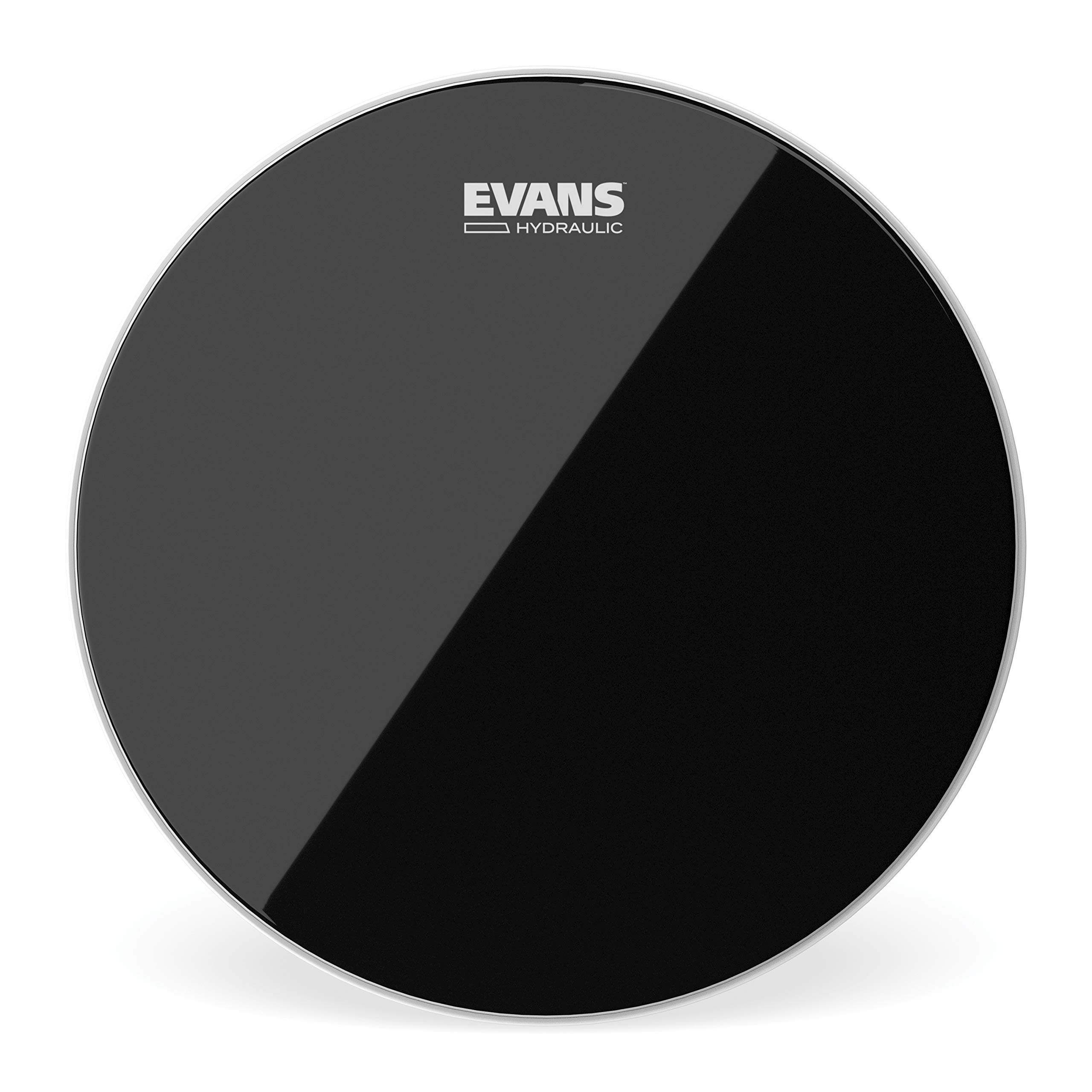Evans Black Hydraulic Drum Head - 15 Inch