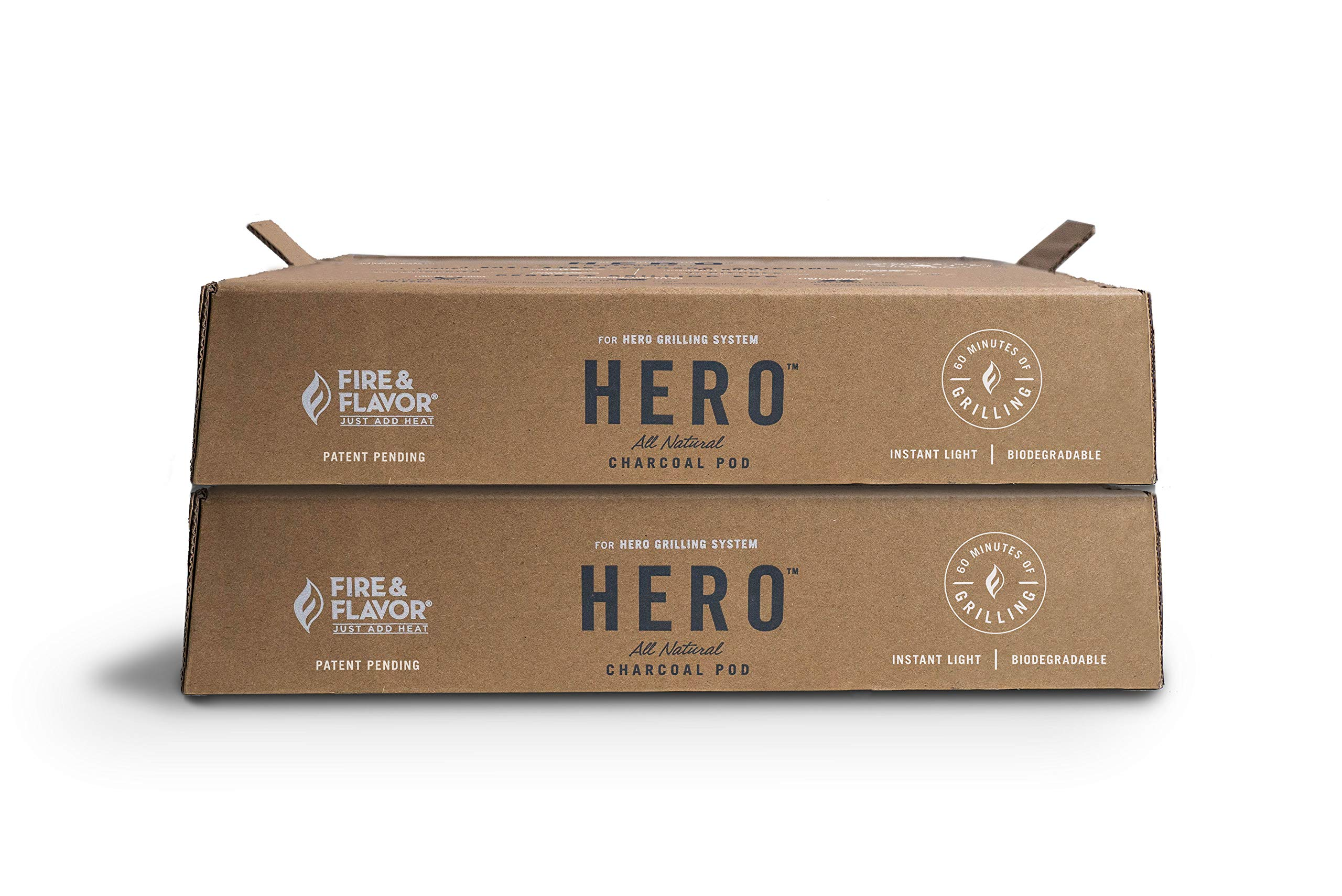 Fire & Flavor HERO Pods Charcoal Grill Pod 2 Pack Refill