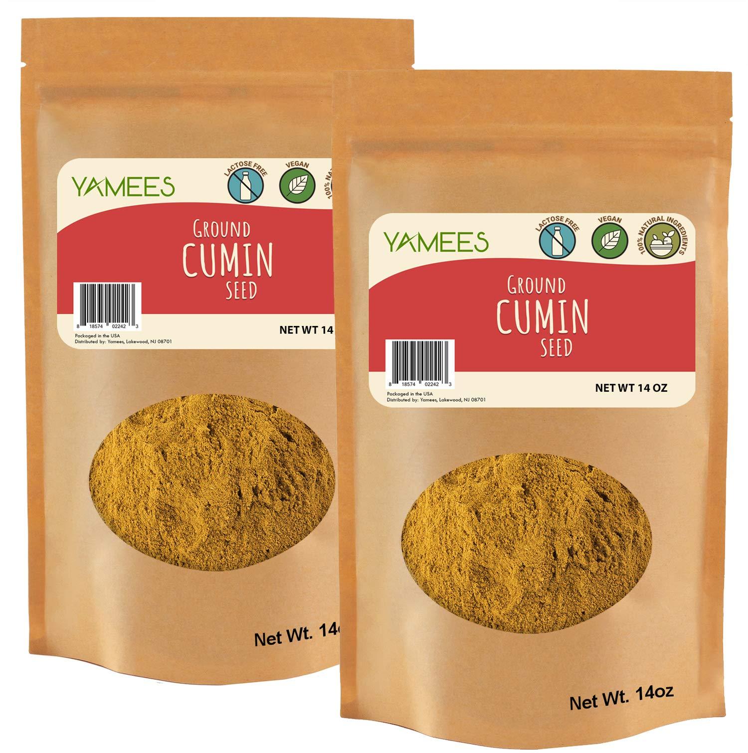 Cumin - 28 Oz (14 Oz Each) - Cumin Powder - Cumin Ground - Cumin Spice - Bulk Spices