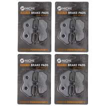 NICHE Brake Pad For Set BMW R100R R1100GS R1100R R1100S R850R R1200C 34117663764 Front Semi-Metallic 4 Pack