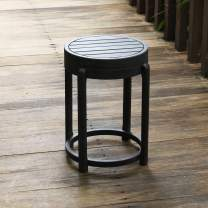 Cambridge-Casual Solid Wood Bentley Painted Side Table, Black