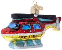 Old World Christmas Planes, Trains, Helicopters, Boats and Trucks Glass Blown Ornaments for Christmas Tree