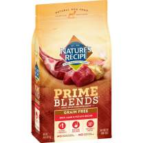Nature's Recipe Prime Blends, Beef, Lamb, and Potato Recipe, Grain Free, Dry Dog Food, 12 Pound Bag