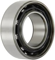 """SKF 3211 A Double Row Ball Bearing, Standard Capacity, Converging Angle Design, 30° Contact Angle, ABEC 1 Precision, Open, Steel Cage, Normal Clearance, 55mm Bore, 100mm OD, 1 5/16"""" Width, 6300 rpm Maximum Rotational Speed, 10688.0 pounds Static Load Capacity, 13500.00 pounds Dynamic Load Capacity"""