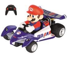 Carrera RC 200990 Mario Kart Circuit Special Racer Radio Remote Control Car - Mario 1:18 Scale, Multicolor