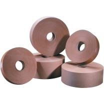 "Tape Logic TLT15000#5000 Non Reinforced Water Activated Tape, 1"" x 500', Kraft (Pack of 30)"