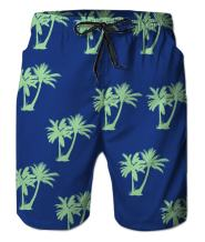 Belovecol Mens Swim Trunks Summer Cool Quick Dry Board Shorts Bathing Suit with Side Pockets Mesh Lining S-XXXL