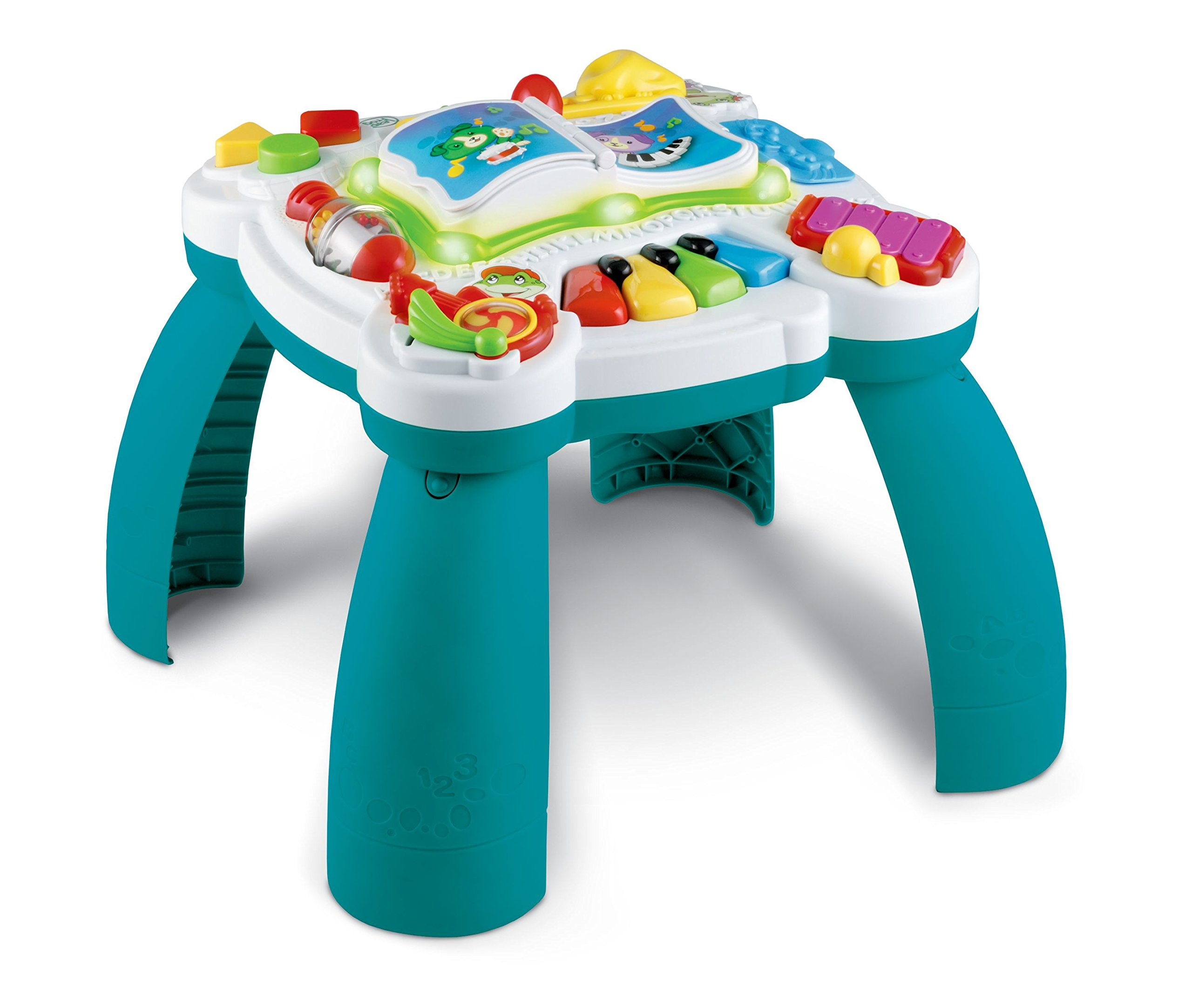 LeapFrog Learn & Groove Musical Table, Green, Great Gift For Kids, Toddlers, Toy for Boys and Girls, Ages Infant, 1, 2, 3