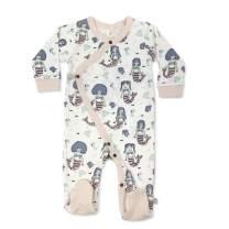 Finn + Emma Organic Cotton Baby Footie Pajama - Mermaids, 9-12 Months