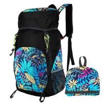 Luisport 40L Foldable Backpack, Waterproof Packable Hiking Backpack Durable Hike Backpack Comping Backpack Comp Backpack