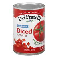Dei Fratelli Low Sodium Diced Tomatoes - All Natural - Low Sodium - 5th Generation Recipe (14.5 oz. cans; 6 pack)